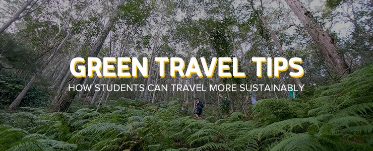 Green Travel Tips: How students can travel more sustainably