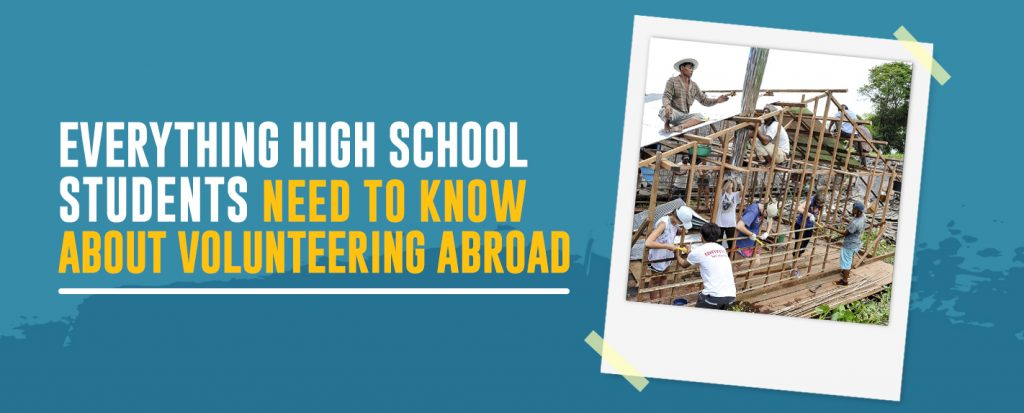 Everything high school students need to know about volunteering abroad