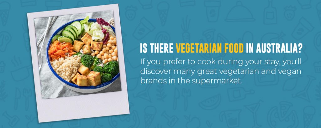Is there vegetarian food in Australia?