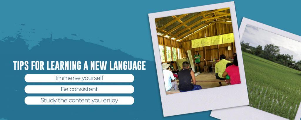 Language learning tips
