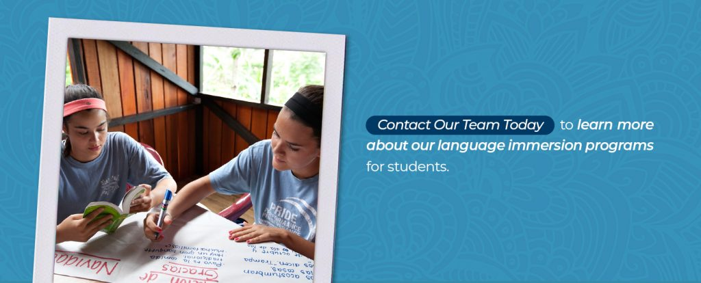 Contact Rustic Pathways today to learn more about our language immersion programs