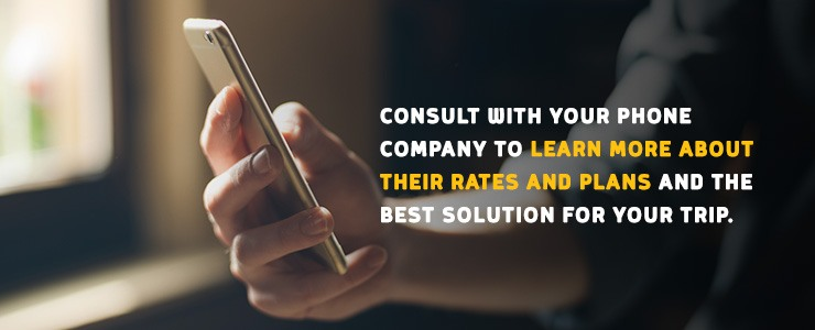 Consult with your phone company to learn more about their international calling plans