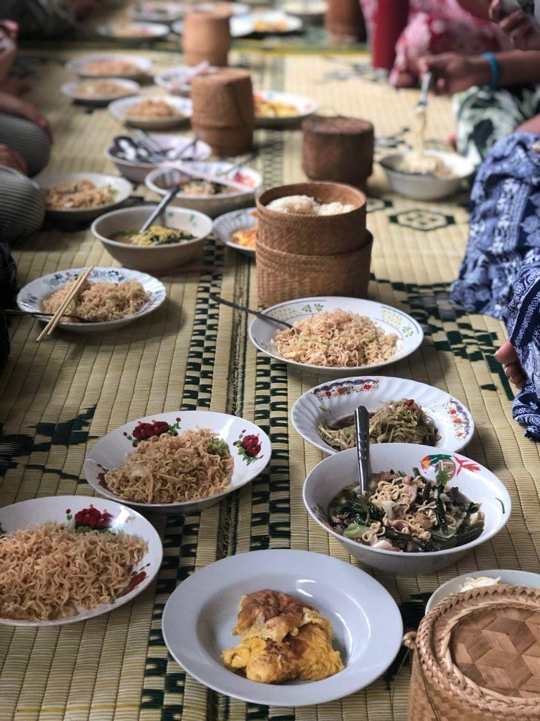 Lunch in Thailand