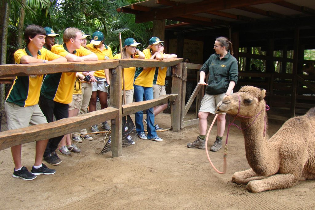 Australia Zoo with Rustic Pathways