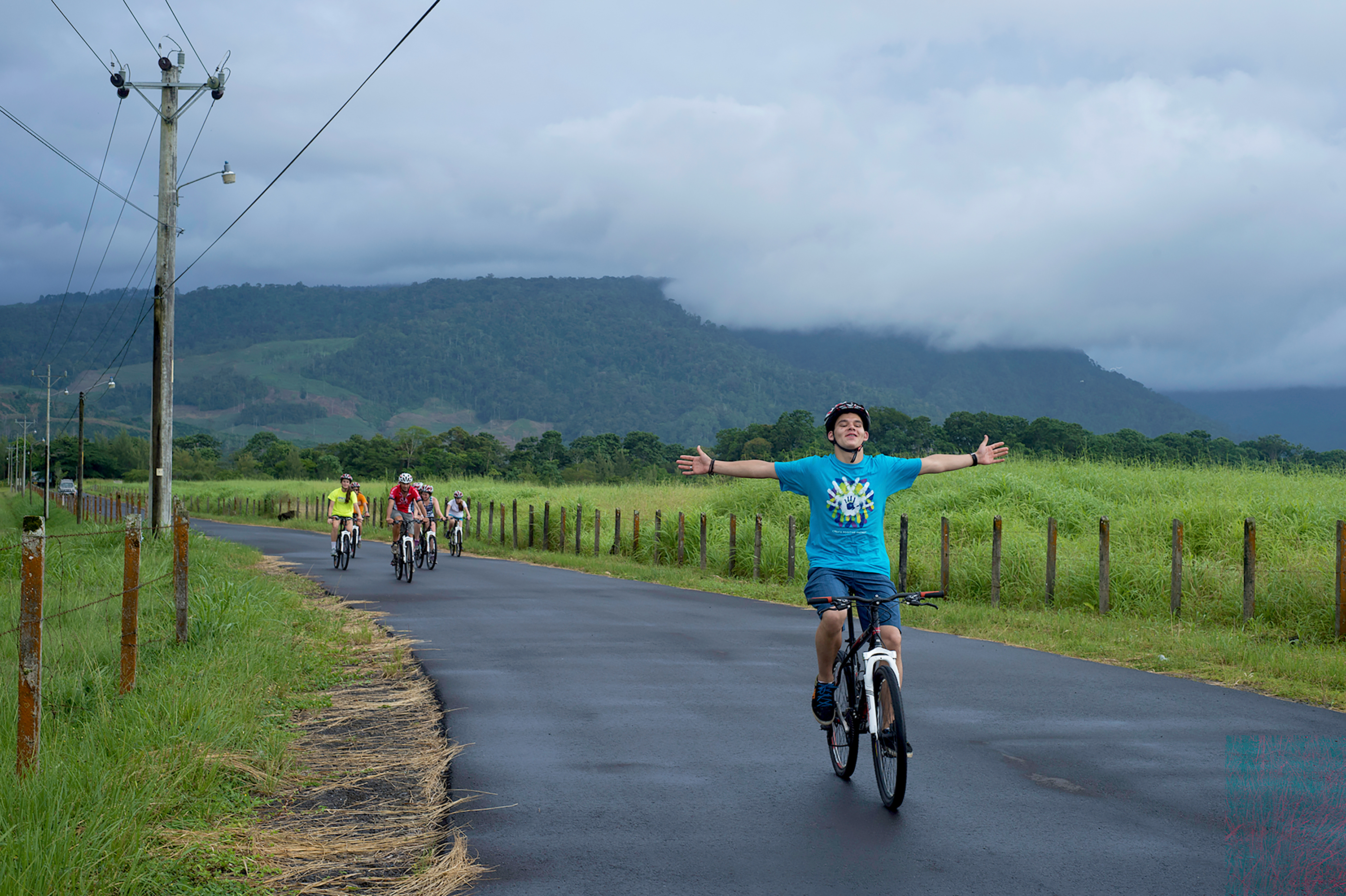 Bike ride in the Dominican Republic