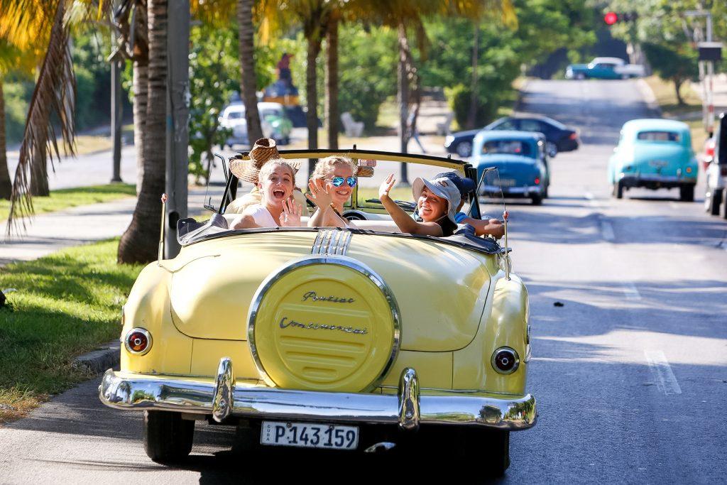 classic Chevys in Cuba