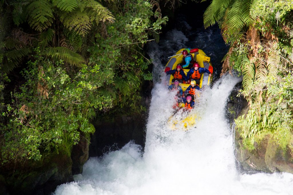 whitewater rafting in Fiji with Rustic Pathways