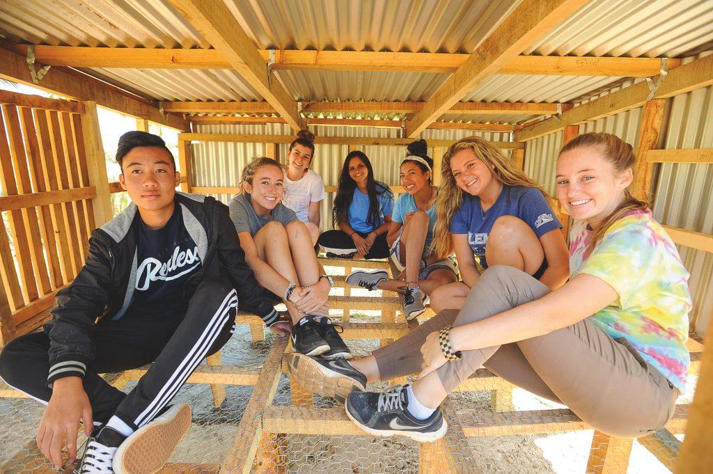 Chicken Coop Building in Fiji