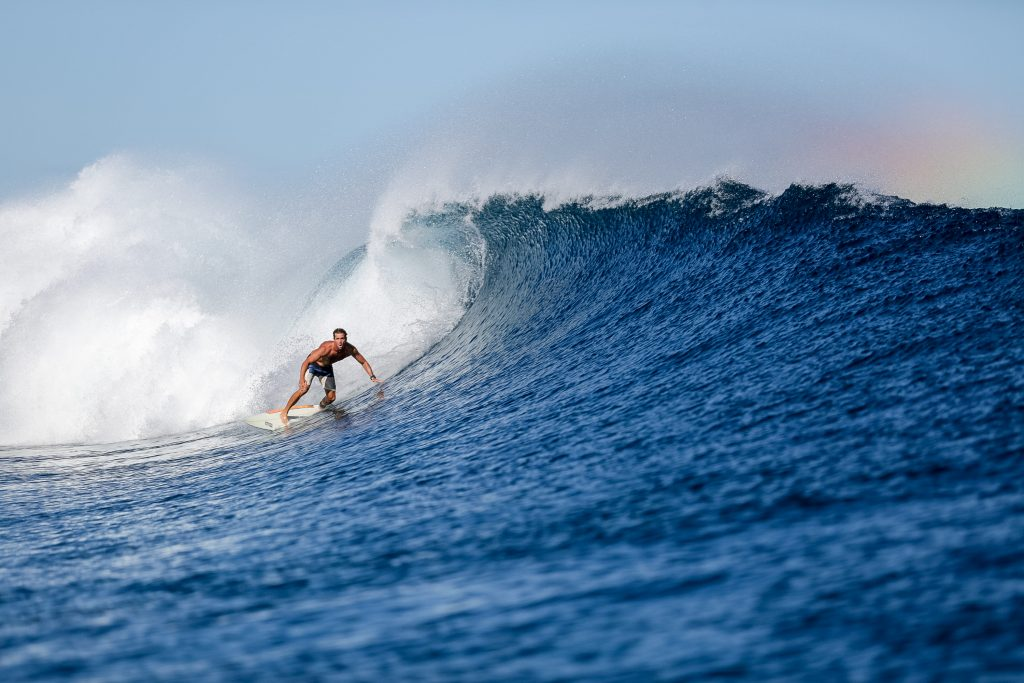 surfing in Fiji with Rustic Pathways