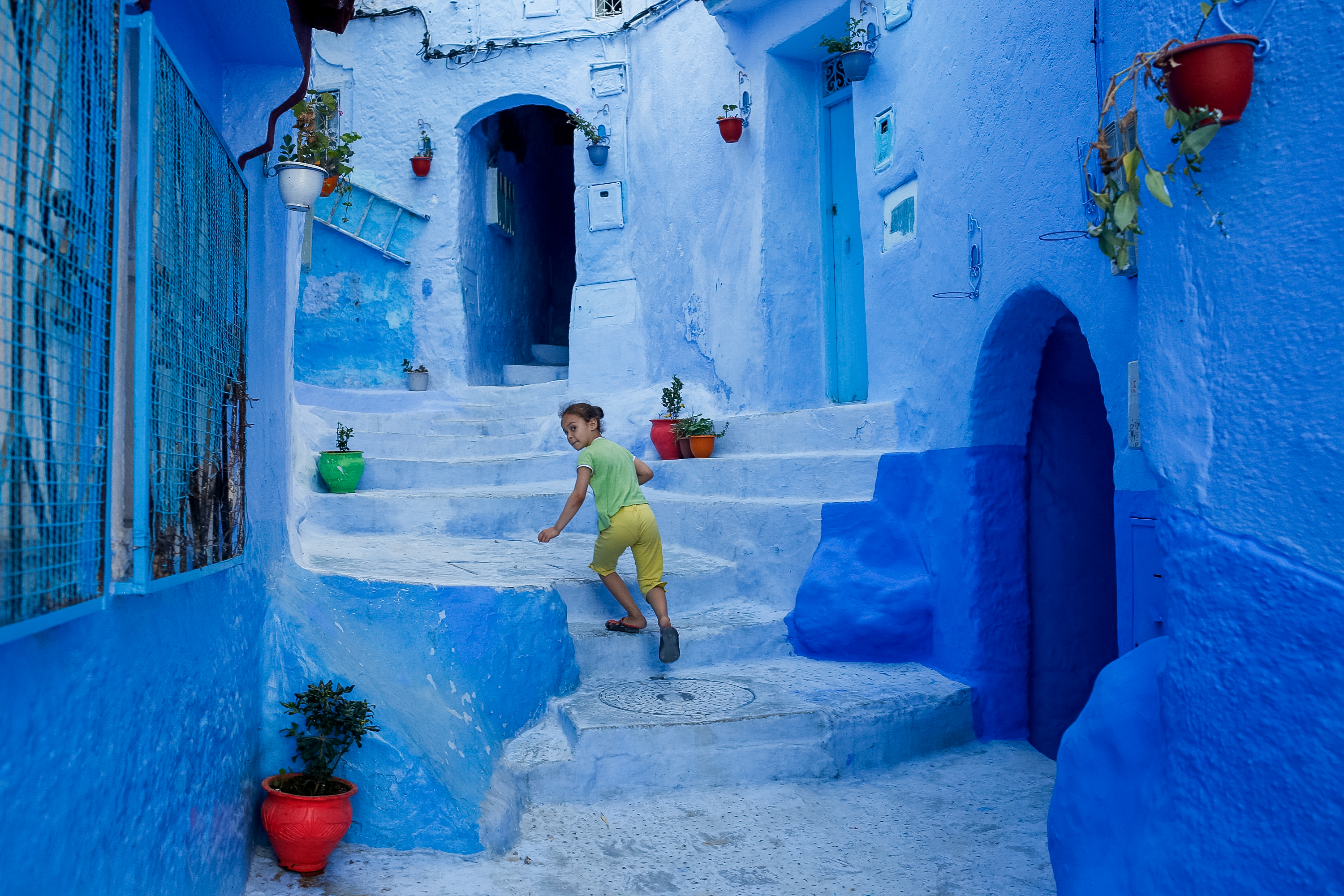 the blue city of Chefchaouen in northern Morocco