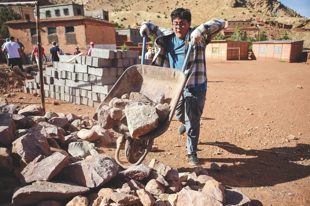 Service project in Morocco