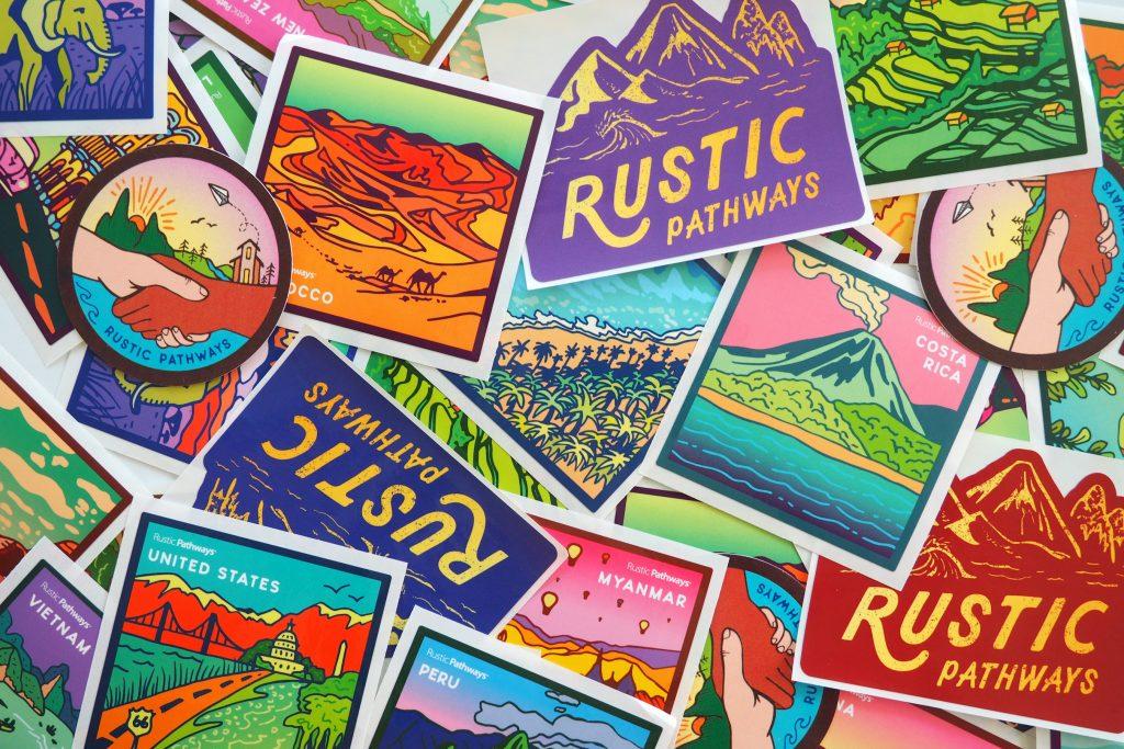 Rustic Pathways stickers