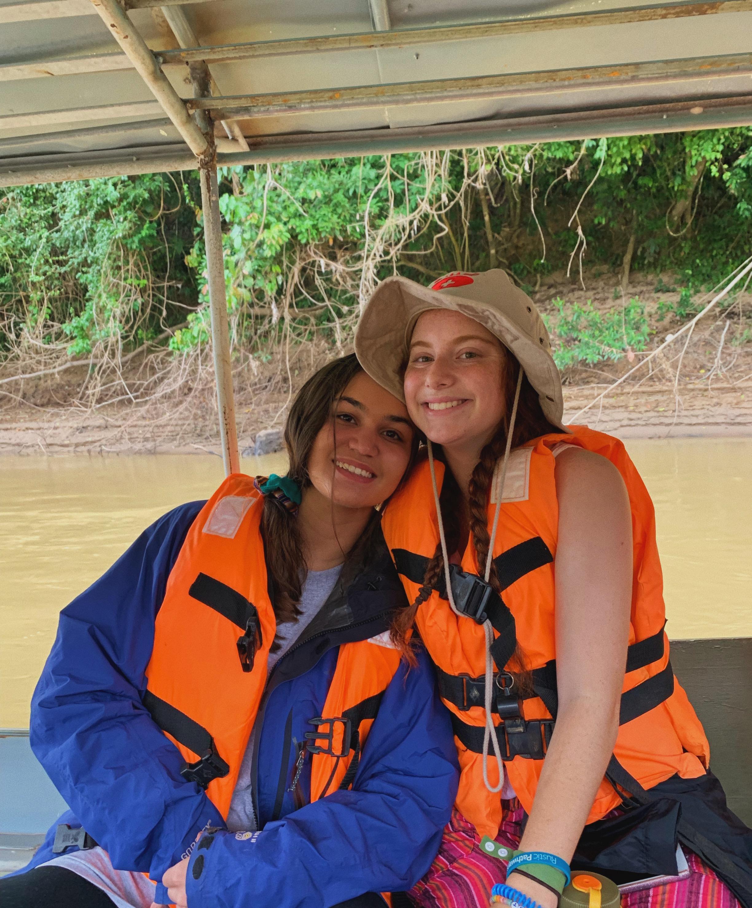 On the Las Piedras River in the Peruvian Amazon