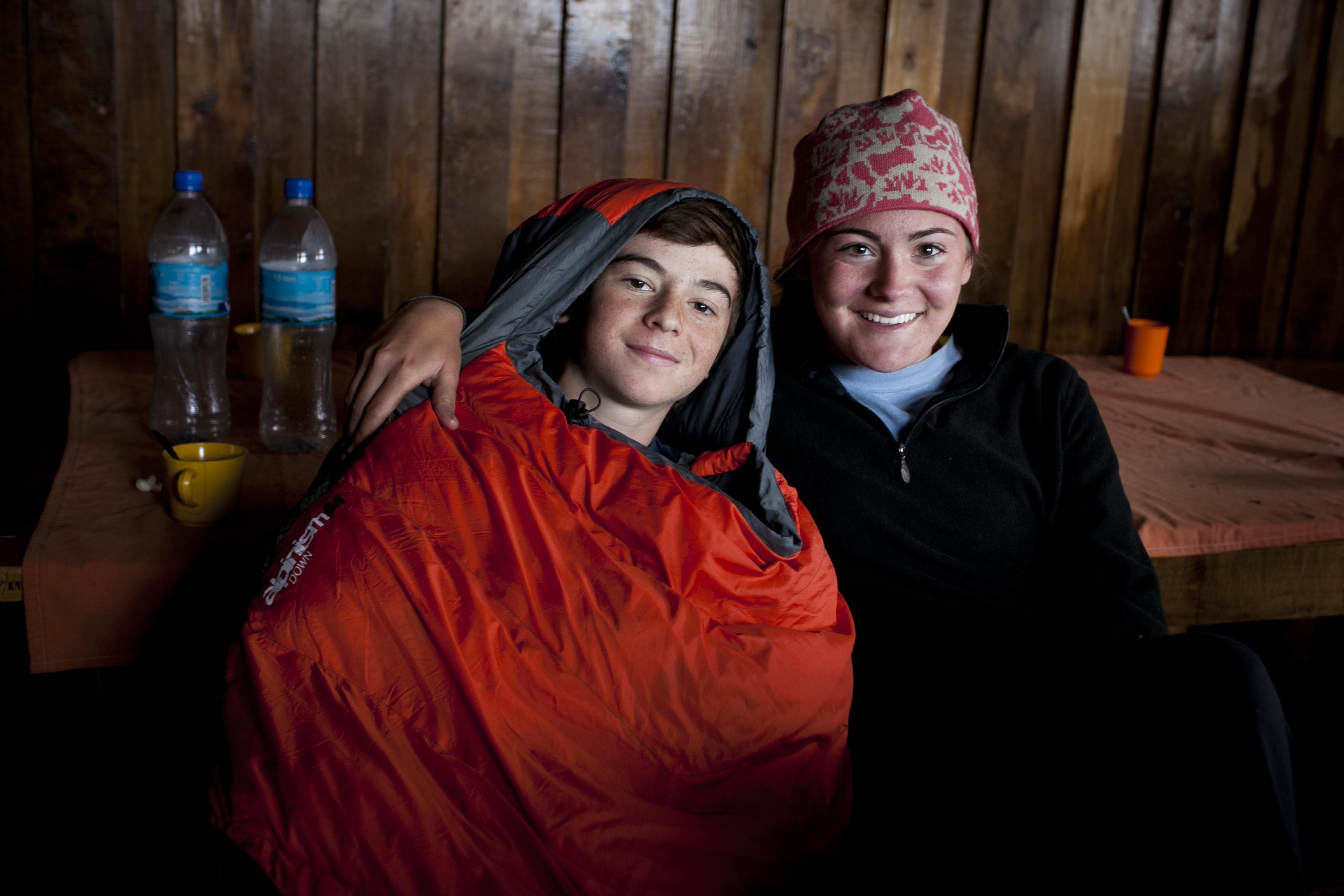 Alex Boulet during Climbing Kili in 2011
